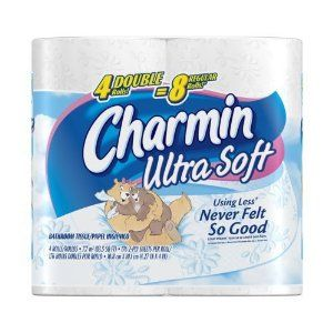 Charmin Ultra Soft 4 Rolls Toilet Tissue 200 Count Pack Of 10 Charmin Household Cleaning Supplies Bathroom Tissue