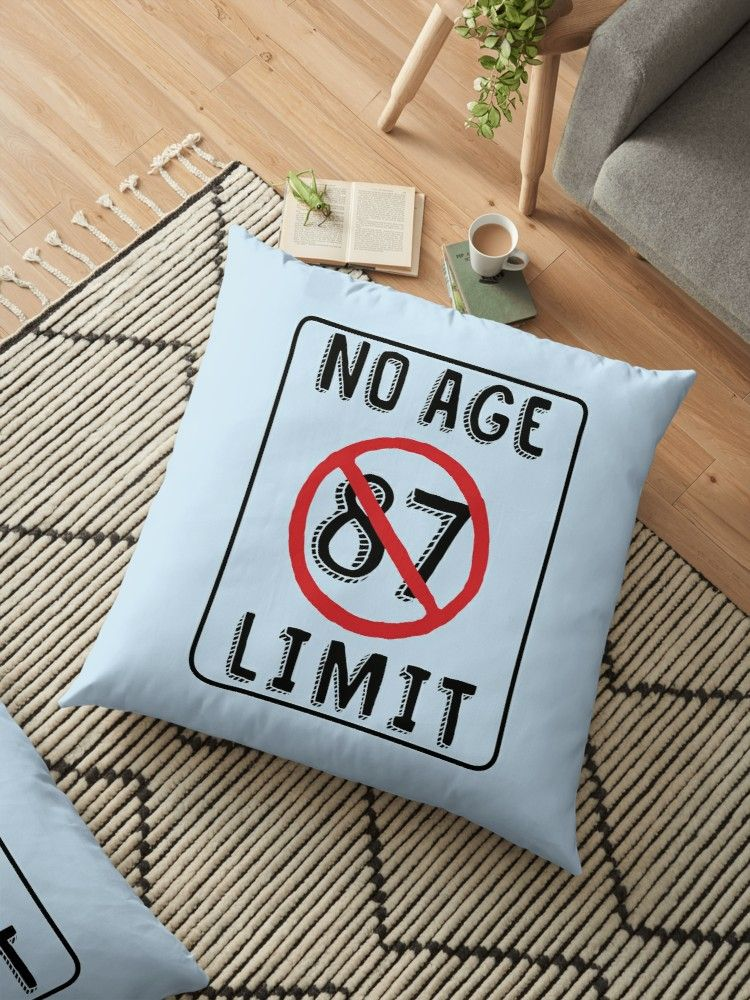 Buy No Age Limit 87th Birthday Gifts Funny B Day For 87 Year Old By MemWear As A T Shirt Classic Tri Blend Lightweight Hoodie Womens
