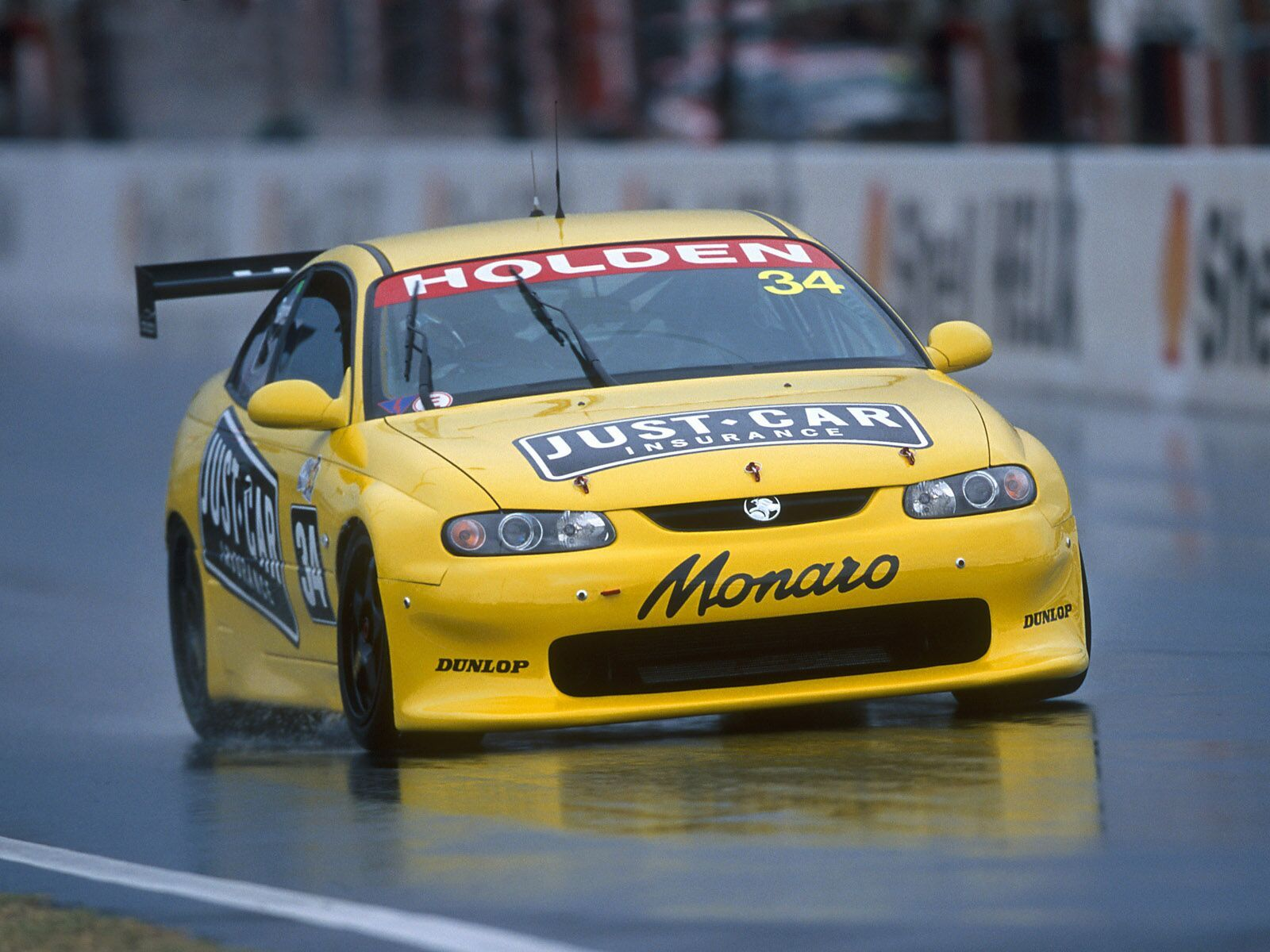 The Monaro didn't make a great impact on the ntrack, but