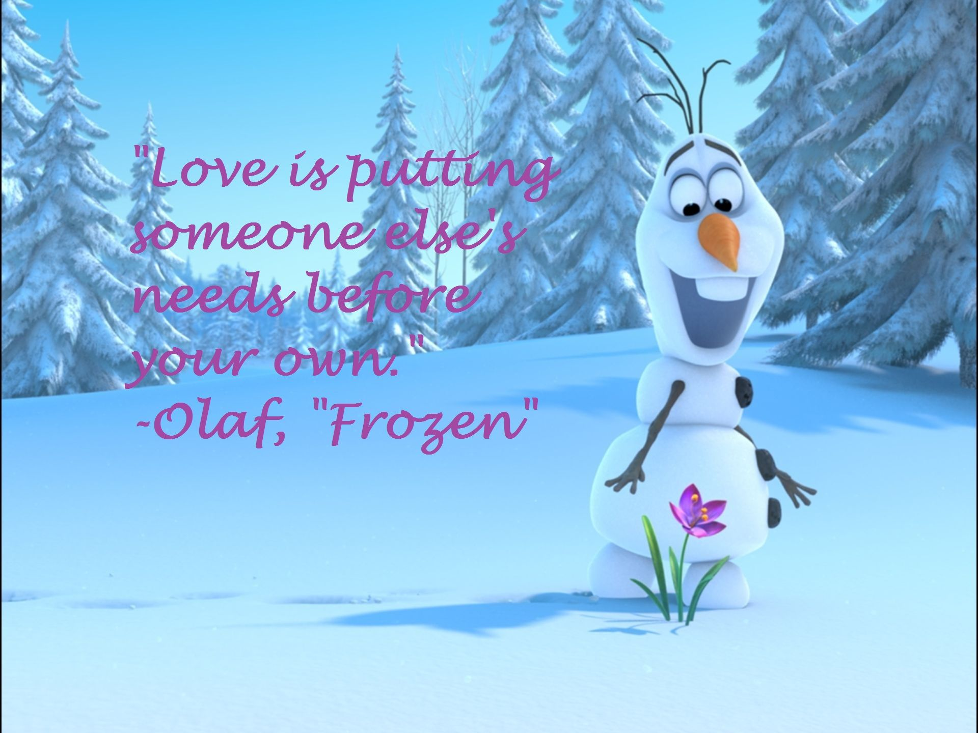 Olaf Knows What Love Is Disney Pinterest Frases Amor And Dibujos