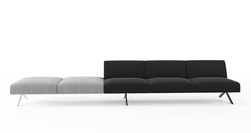 Lievore Altherr Molina Viccarbe Sistema Modular Sofa System