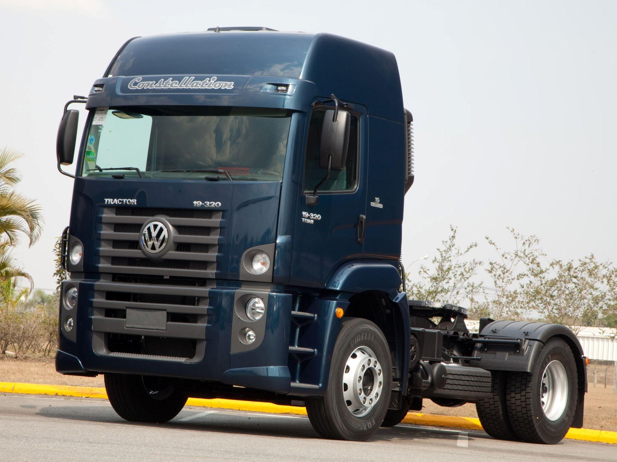 Volkswagen Constellation Titan Tractor 19 320 Volkswagen Trucks Tractor Trailers
