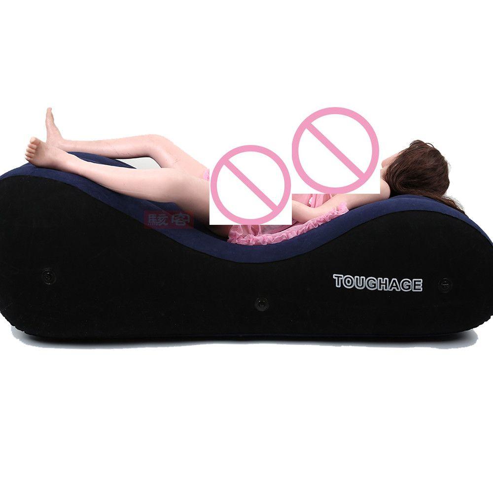 US $80.75 Toughage Pf3207 Aufblasbare Schlafsofa Uns Lager Sendungen  Sexspielzeug Für Paare Liebe Sex Stuhl Kissen Erwachsene Sex Möbel  #Toughage ...