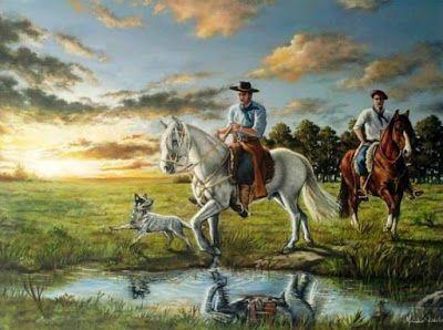 Diario De Um Gaucho Grosso Gauchos A Cavalo Com Imagens Arte
