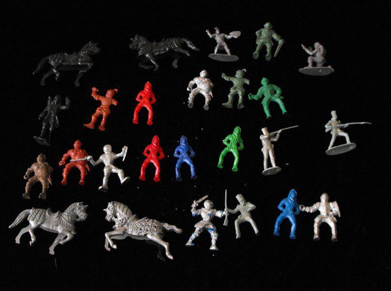 Knights+&+Horses+Play+Set+Figures+Lot+Vintage+MPC++ #playsetfigures #playsets #vintageplaysets #vintagetoys #toys