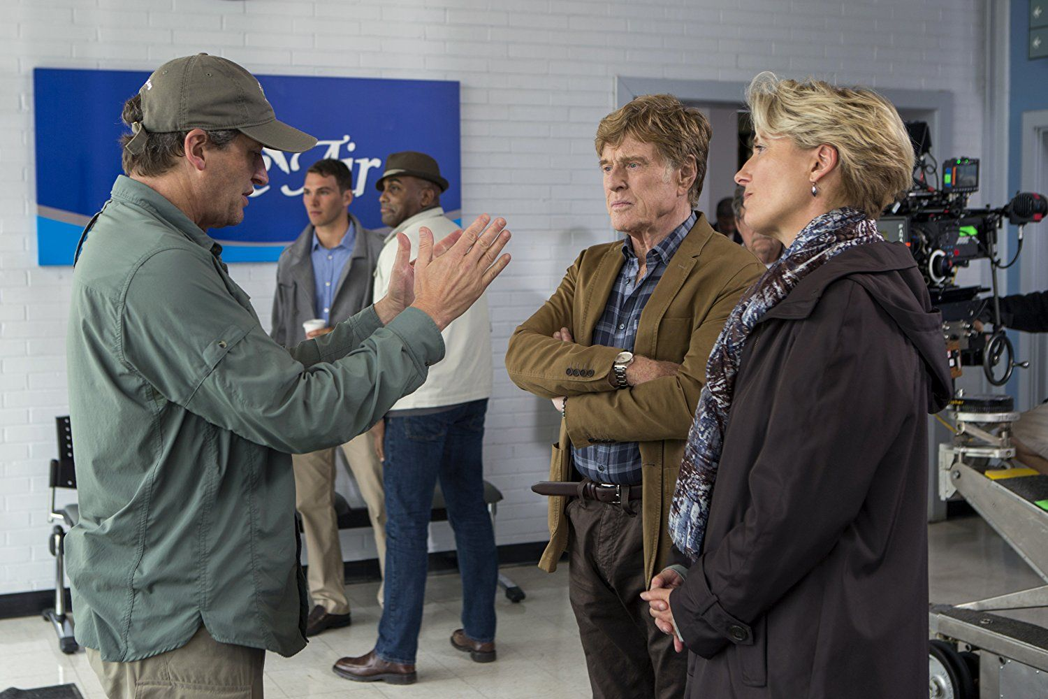Robert Redford And Emma Thompson In A Walk In The Woods 2015 Robert Redford Emma Thompson Walk In The Woods