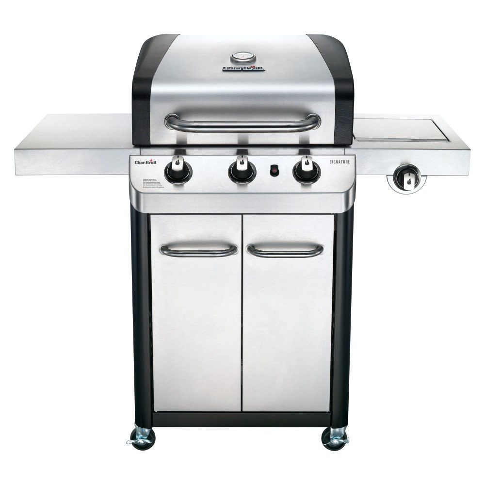 Char Broil 463372017 3 Burner Stainless Steel 425 Square Inch Propane Gas Grill Propane Gas Grill 3 Burner Gas Grill Grilling