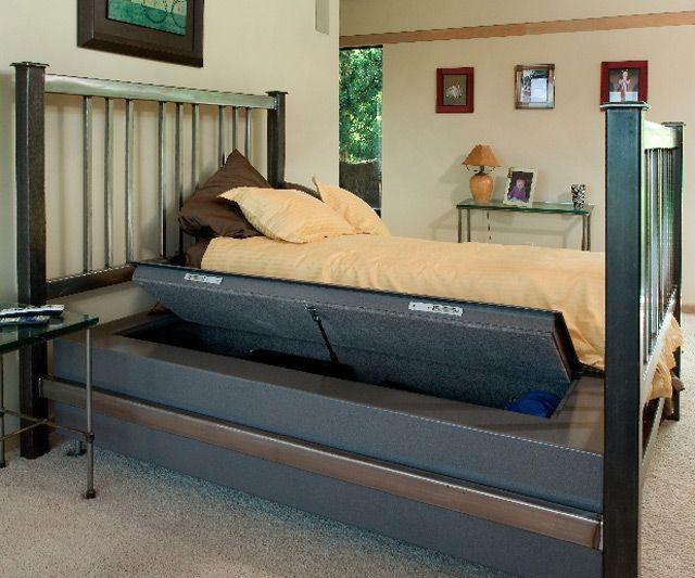 Bedbunker Safes Diy Home Security Home Home Safety