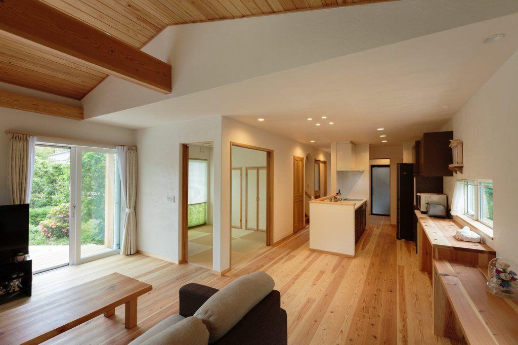 家族と共に時を重ねる 現代和風の家 一戸建て 和室 家