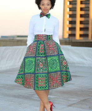 0fe6c19582 Cute tops for wear with African print skirts | African Print Charm ...