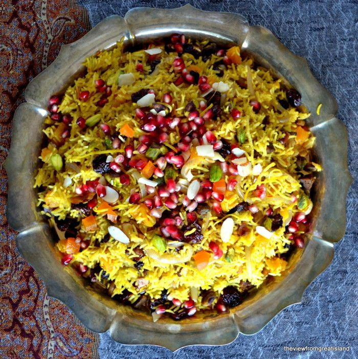 Persian Jeweled Rice | Recipe | Persian, Thanksgiving and ...