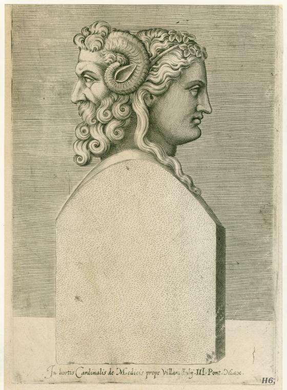 Bust Of The Roman God Janus Roman God Roman Gods Janus