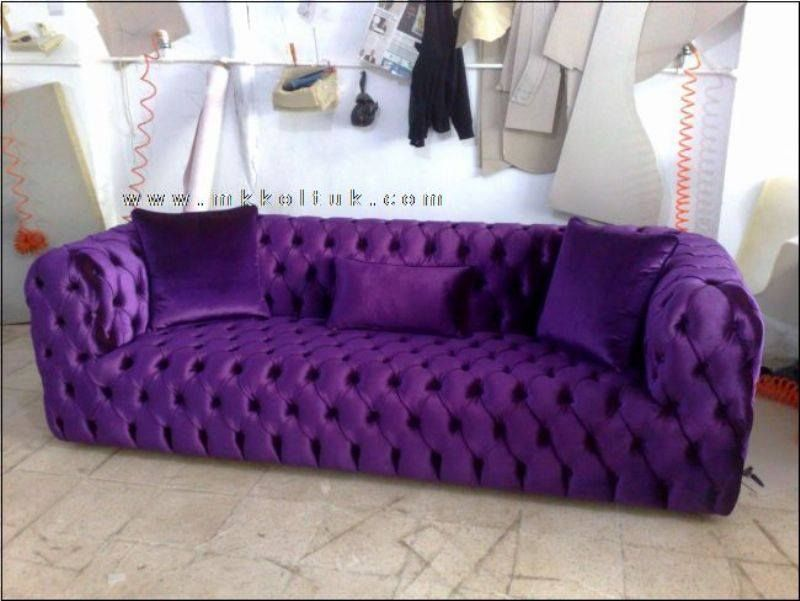 Photos From Purple Everything S Post Purple Everything Purple Furniture Purple Sofa Purple Home