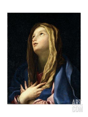 The Virgin Mary Giclee Print by Carlo Cignani at Art.com