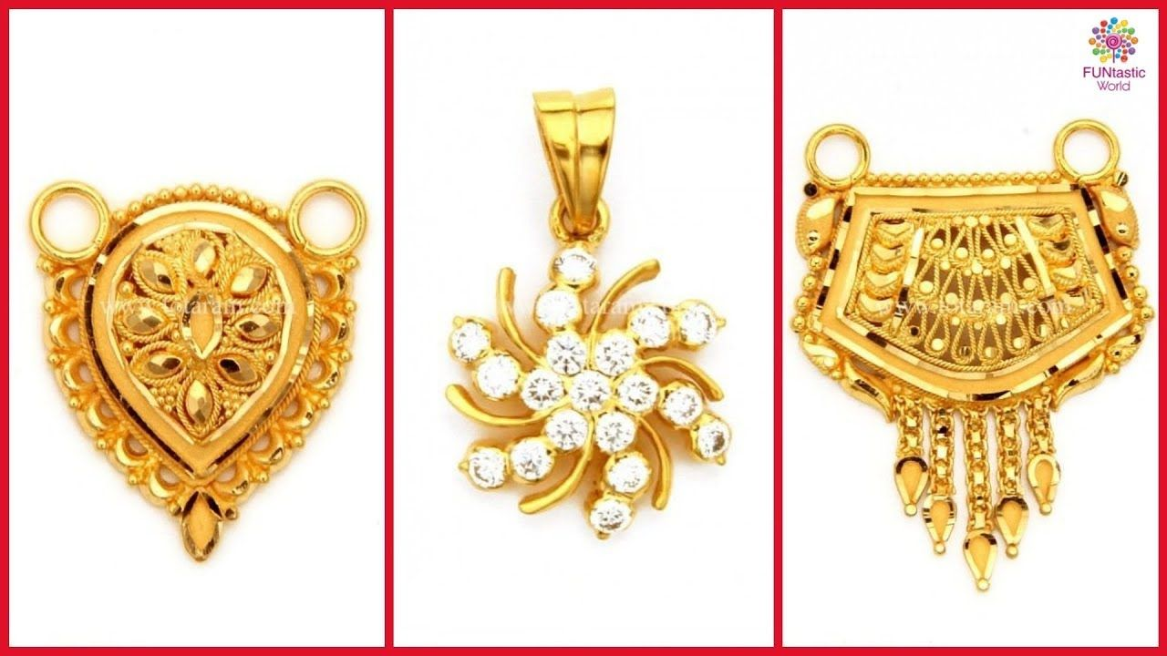 7f10fe5b383e8 Latest Pure Gold Pendants | Beautiful Pendant Designs with Weight ...