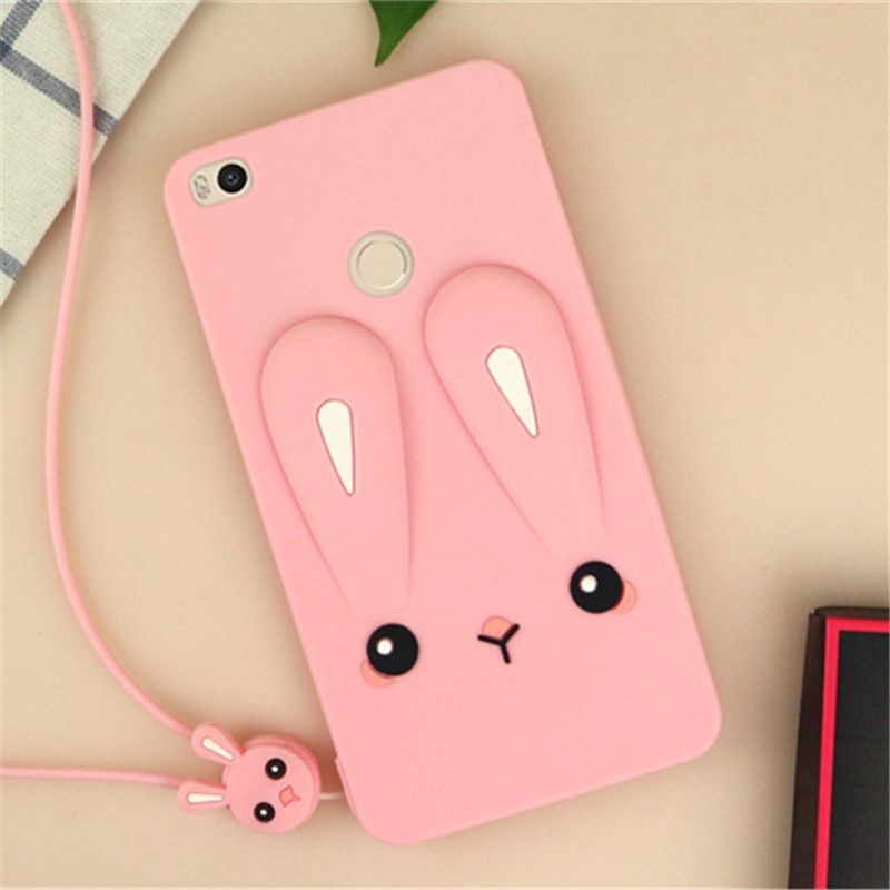 For Xiaomi Redmi 3S Case Cute Color Rabbit Ears Soft Silicone GEL