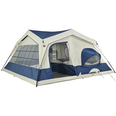 Northpole 15 X 15 3 Room Tent With Screened Front Porch 200 Family Tent Camping Tent Tent Camping