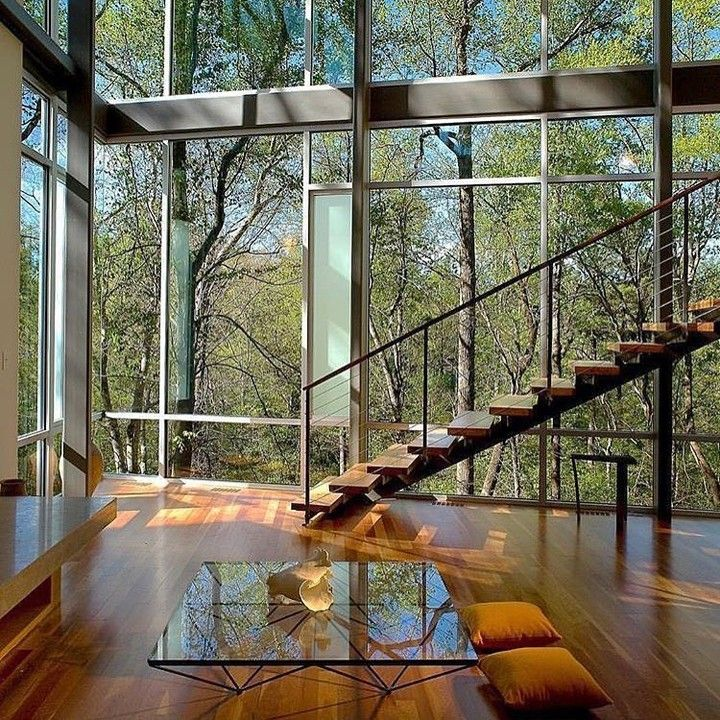 Arquitetura e natureza em harmonia Amo @_decor4home