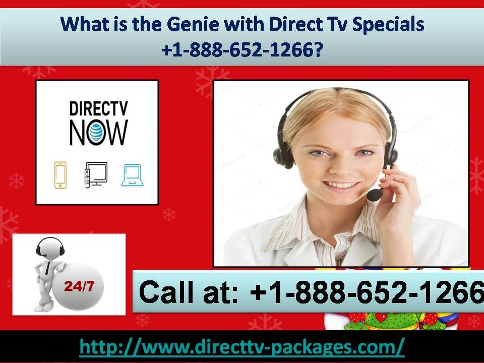 What is the Genie with Direct Tv Specials 18886521266