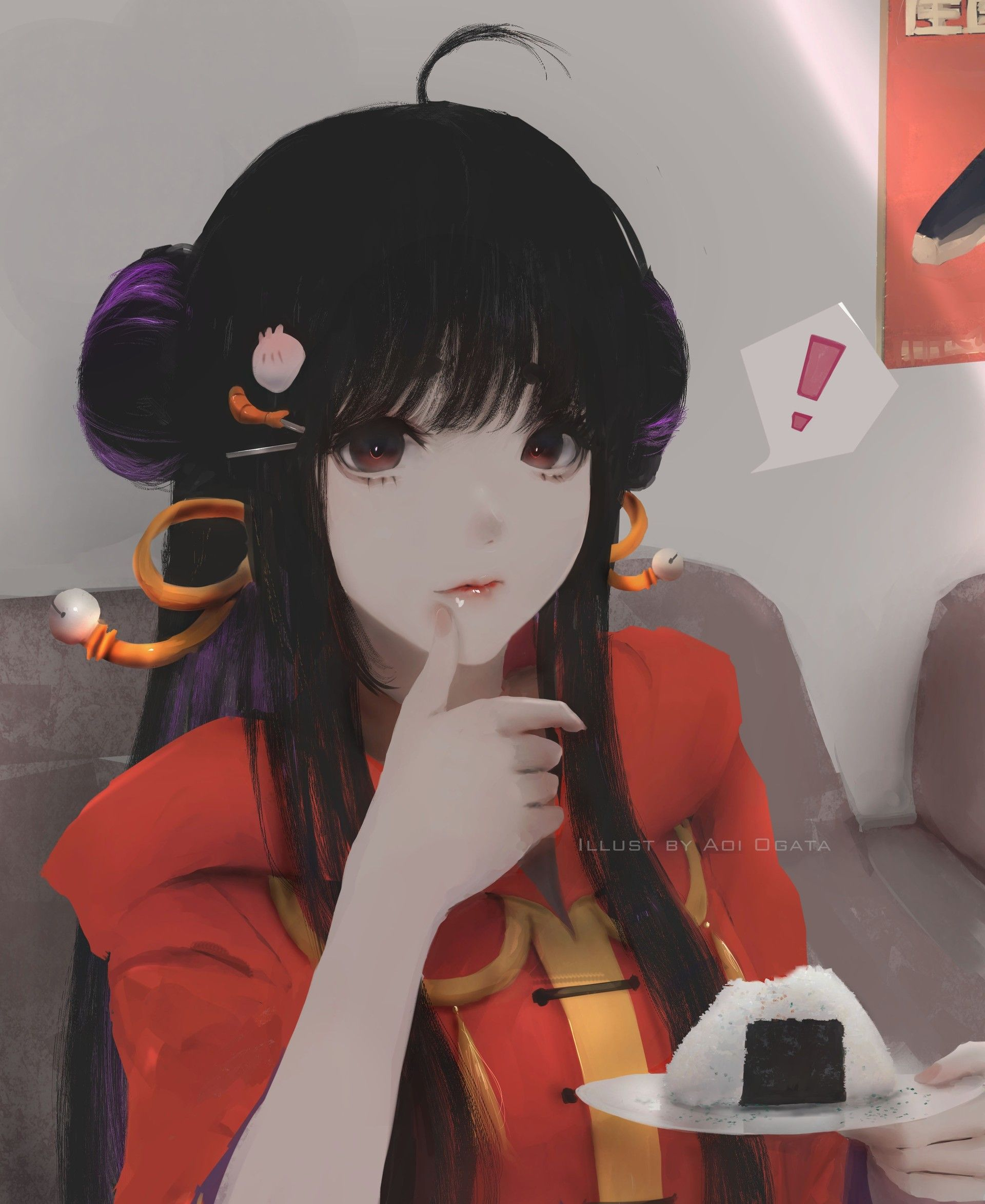 Artstation Hungry Aoi Ogata Risunki Krasivaya Anime Devushka