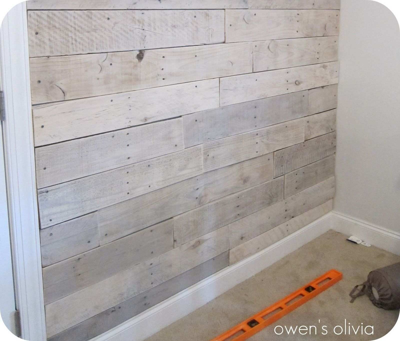 White Washed Wood Wall Made From Cedar Fence Boards: How To Whitewash Wood Paneling - Google Search