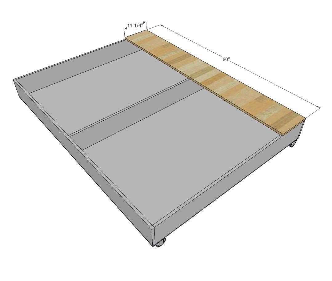 Ana Blanco | Construir una reina tamaño Ascensor almacenamiento de ...