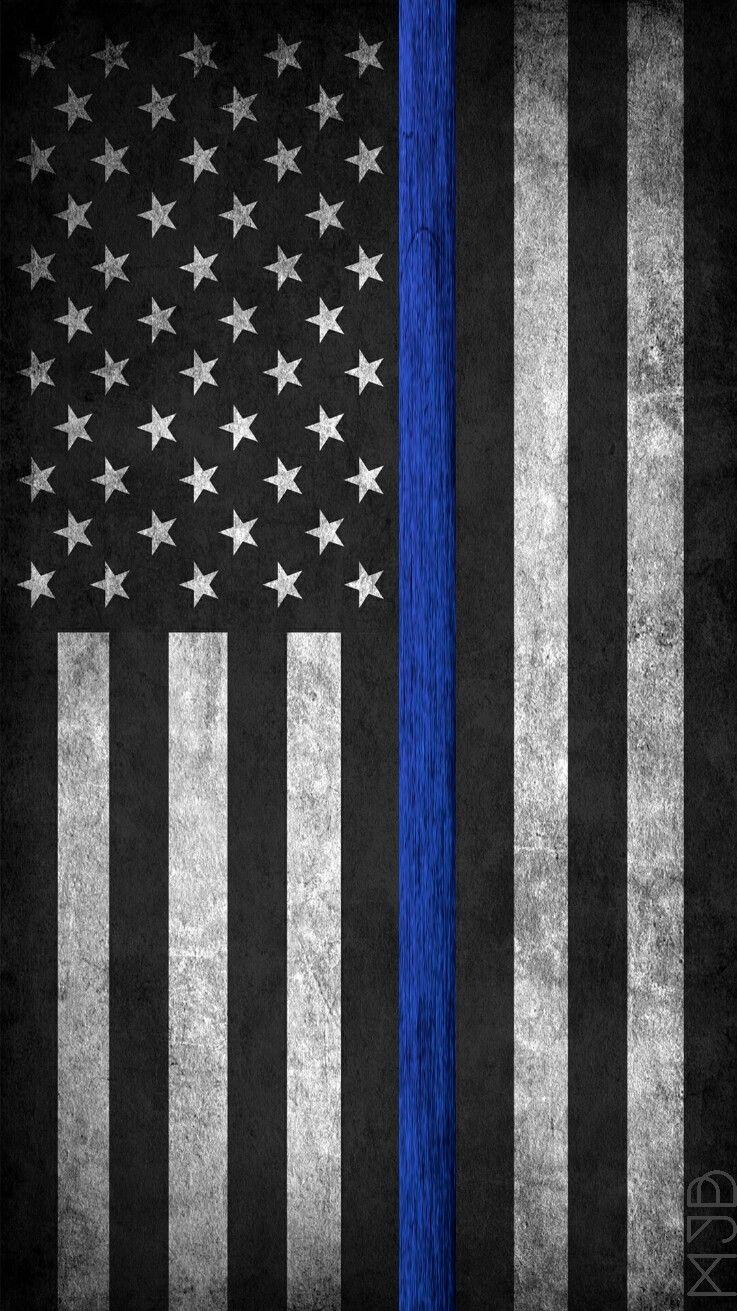 law enforcement american flag - photo #21