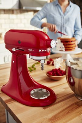 Passion Red 100 Year Limited Edition Queen Of Hearts 5 Quart Tilt Head Stand Mixer Ksm180qhsd Kitchenaid Kitchen Aid Stand Mixer Mixer