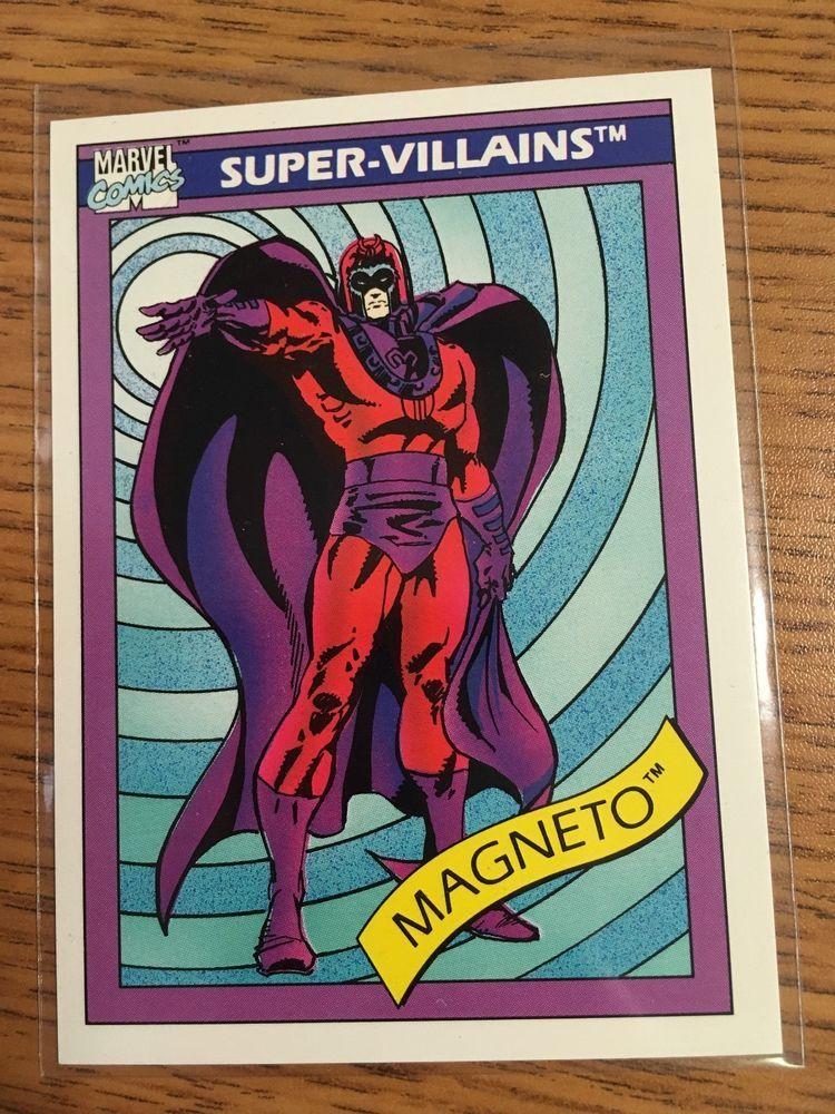 Impel marketing 1990 marvel comics supervillains