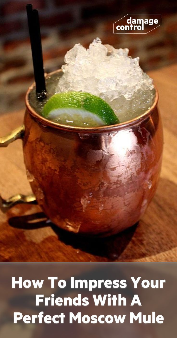 Cocktail Recipe: Moscow Mule #simplemixeddrinks