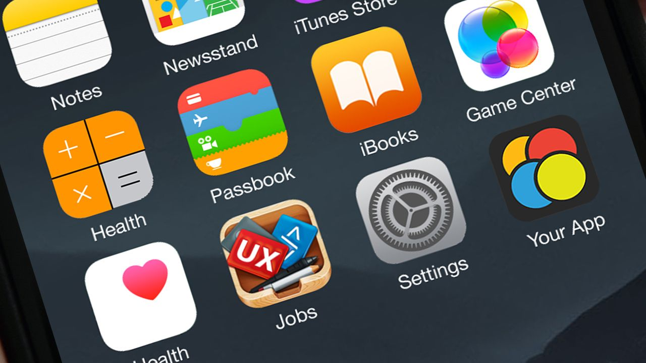 Create iphone app icon display in hand using psd mockup in