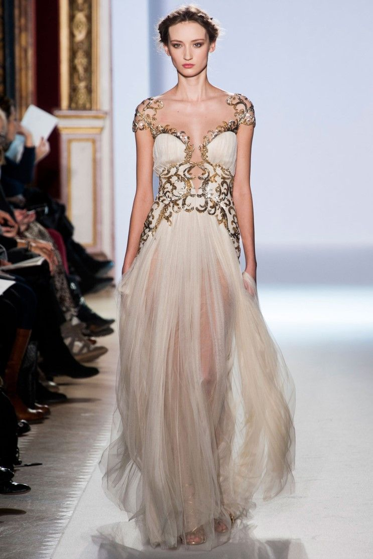 Lebanese designer Zuhair Murad\'s Spring/Summer 2013 Paris collection ...
