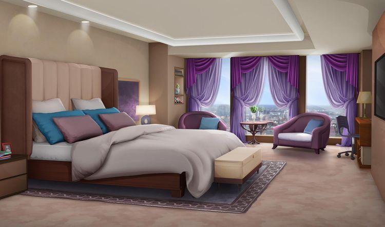 Dorm Bedroom 6 Episode Interactive Backgrounds Episode