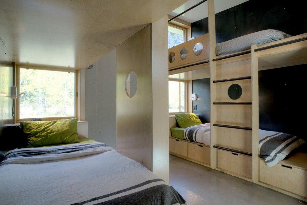 Kleines Etagenbett : Kleines kinderzimmer mit hoch oder etagenbett einrichten