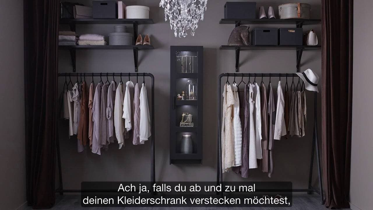 ikea offener kleiderschrank f r modefans orden. Black Bedroom Furniture Sets. Home Design Ideas