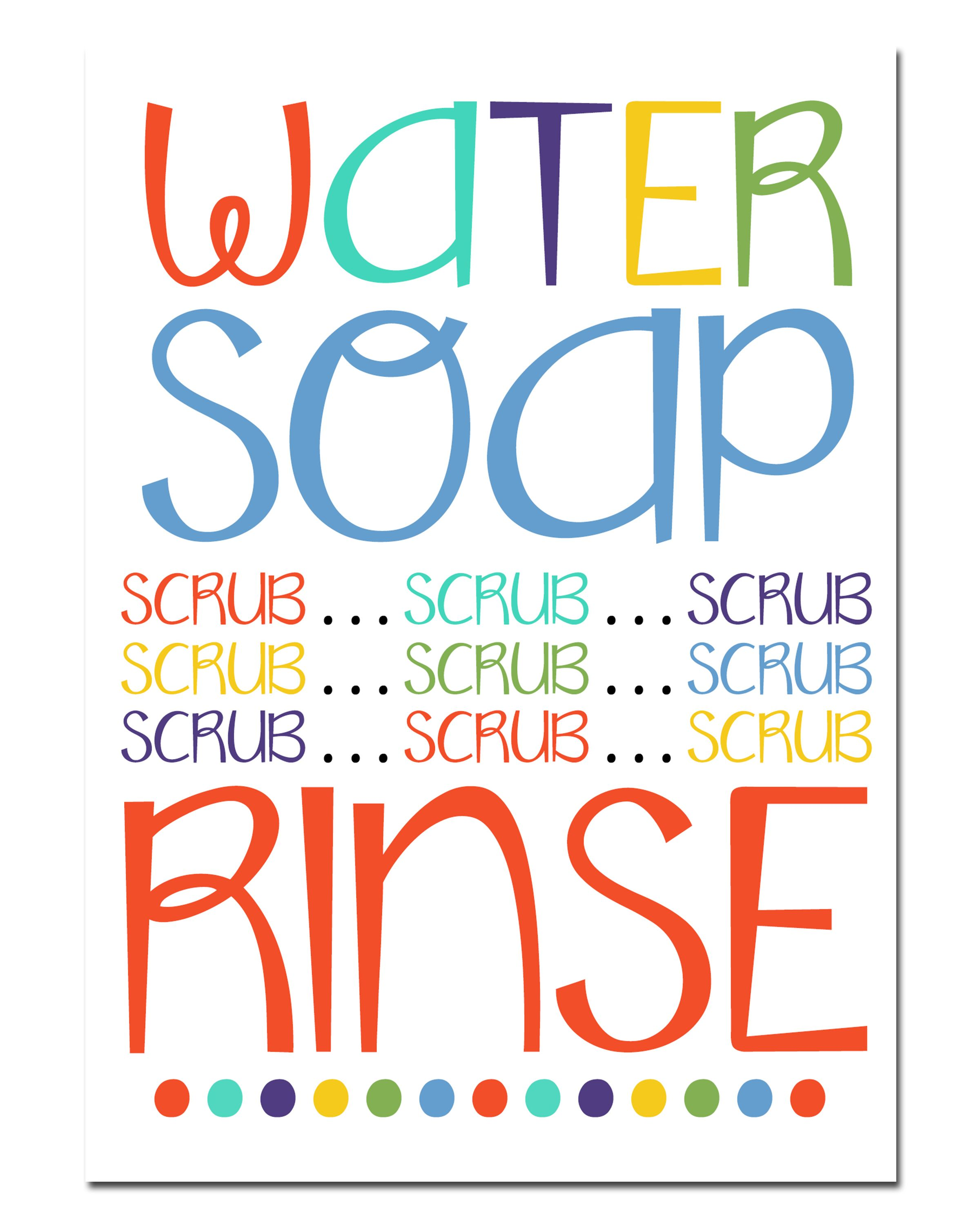 This is a picture of Inventive Free Wash Your Hands Signs Printable
