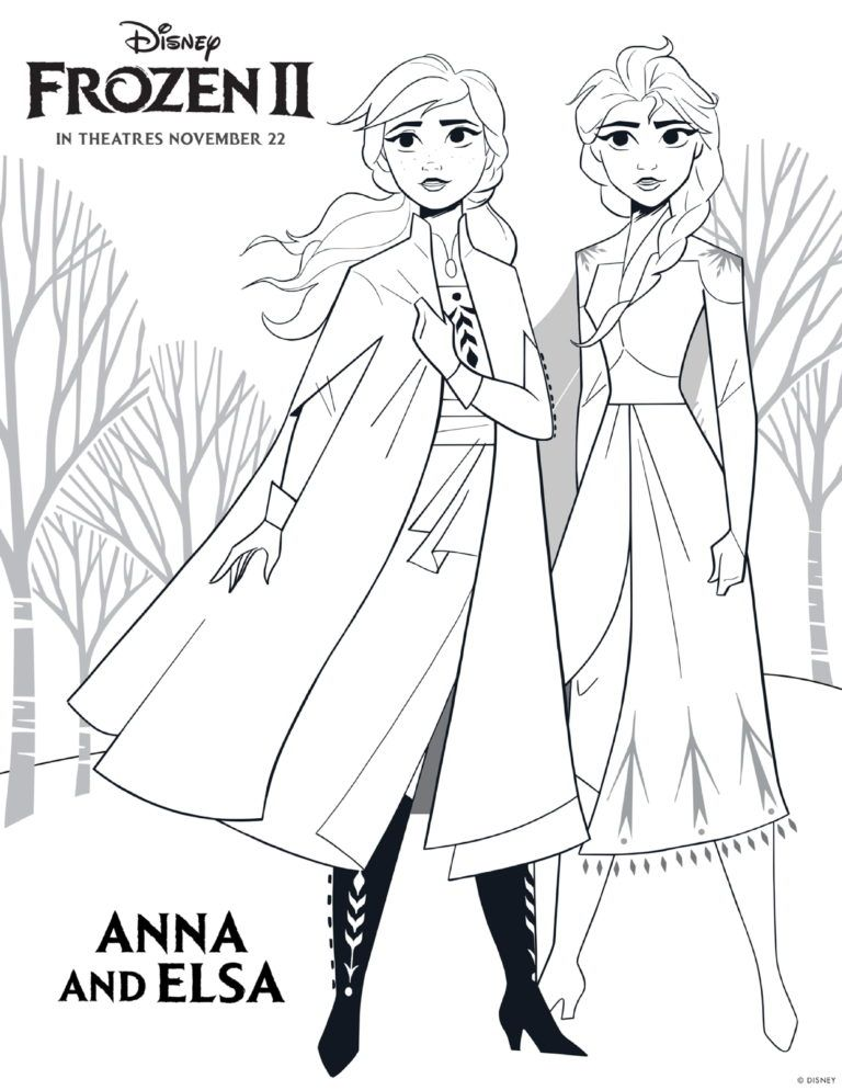 Free Printable Frozen 2 Coloring Pages And Activity Sheets Disney Princess Coloring Pages Free Disney Coloring Pages Princess Coloring Pages