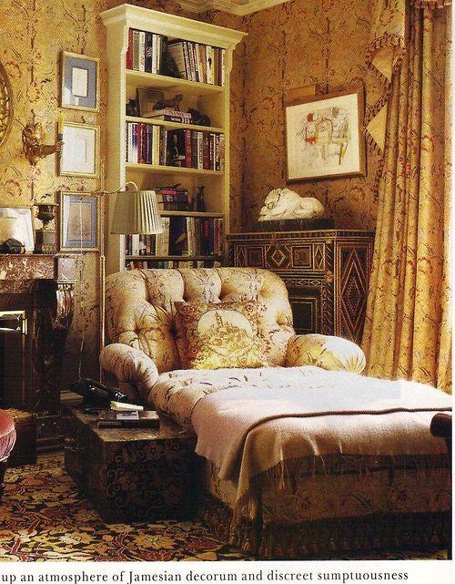 beautiful afternoon reading corner...