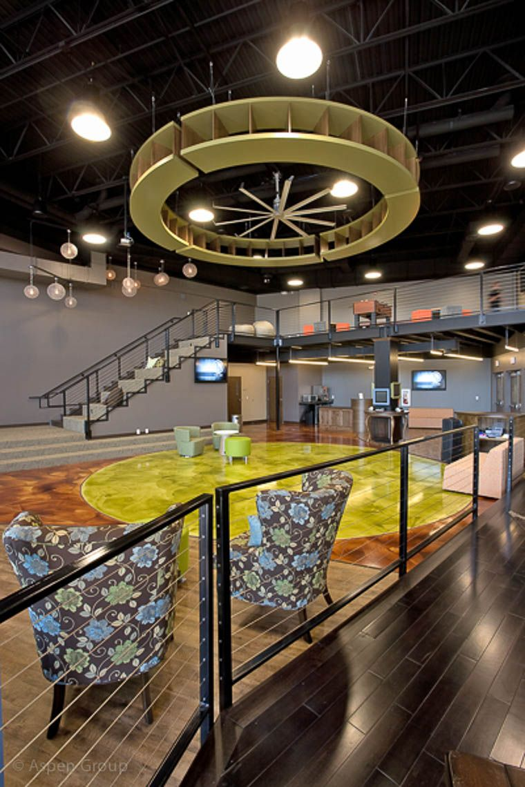Youth Group Room Designs: West Side Christian Church: Student Center