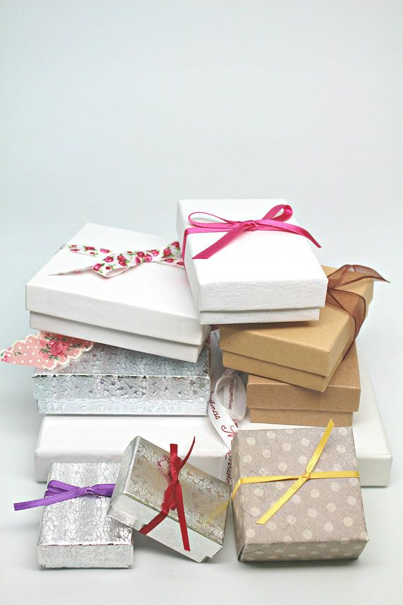 YARD SALE Jewelry Boxes party favor boxes small gift boxes ETSY