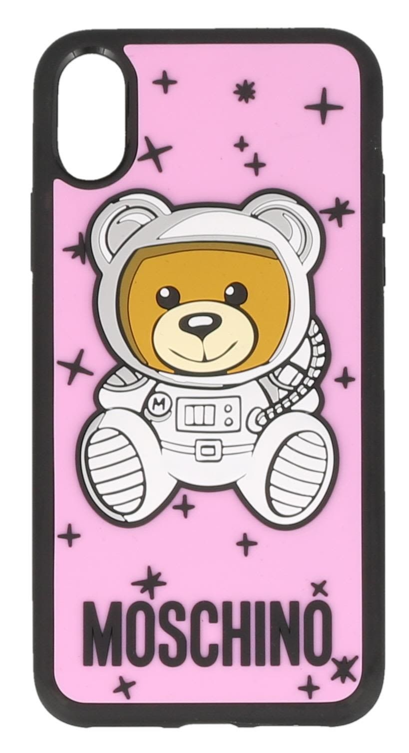 best service 31b89 1885d MOSCHINO IPHONE X COVER. #moschino # | Moschino nel 2019 | Cover ...