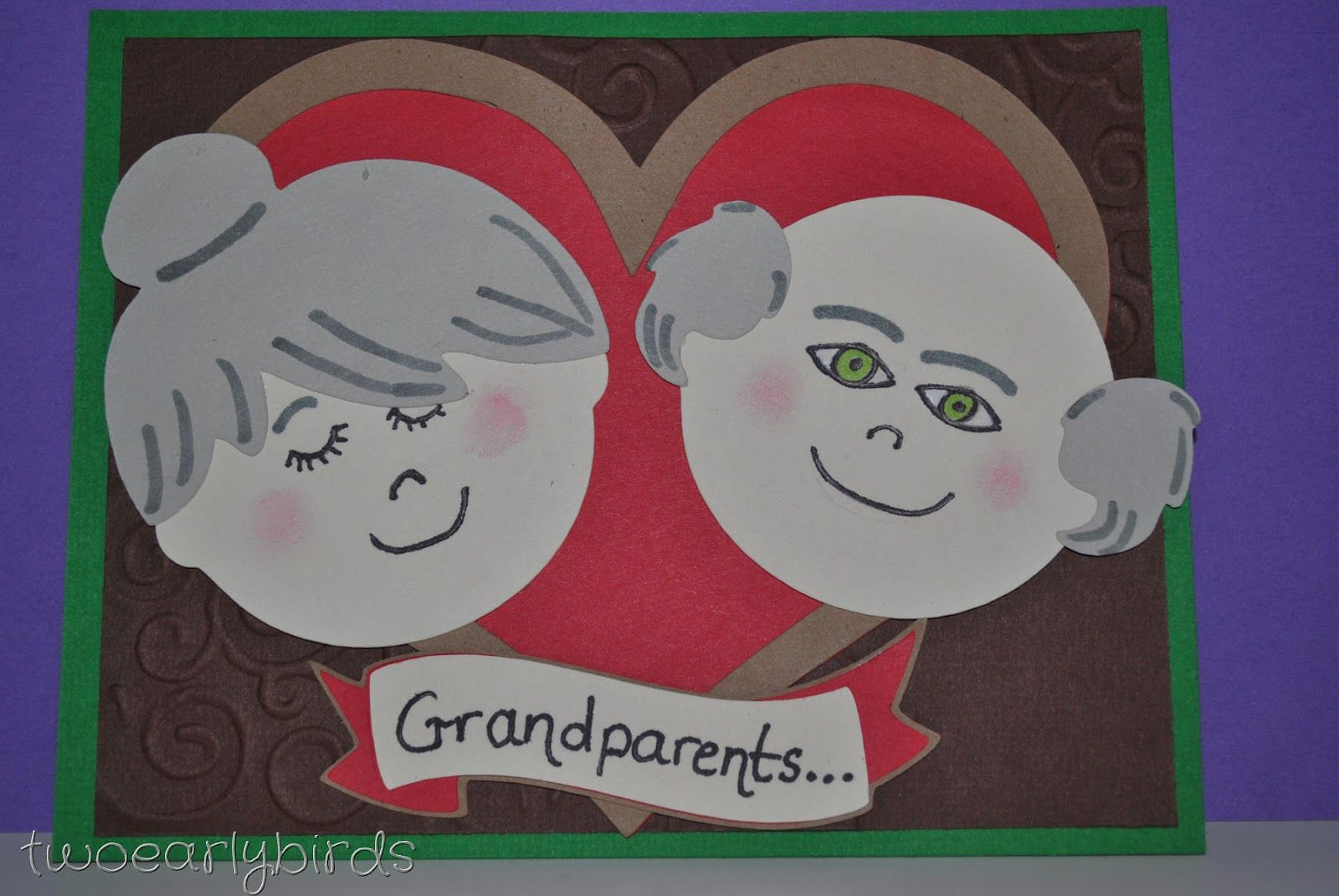Two early birds happy grandparents day cards pinterest two early birds happy grandparents day kristyandbryce Gallery