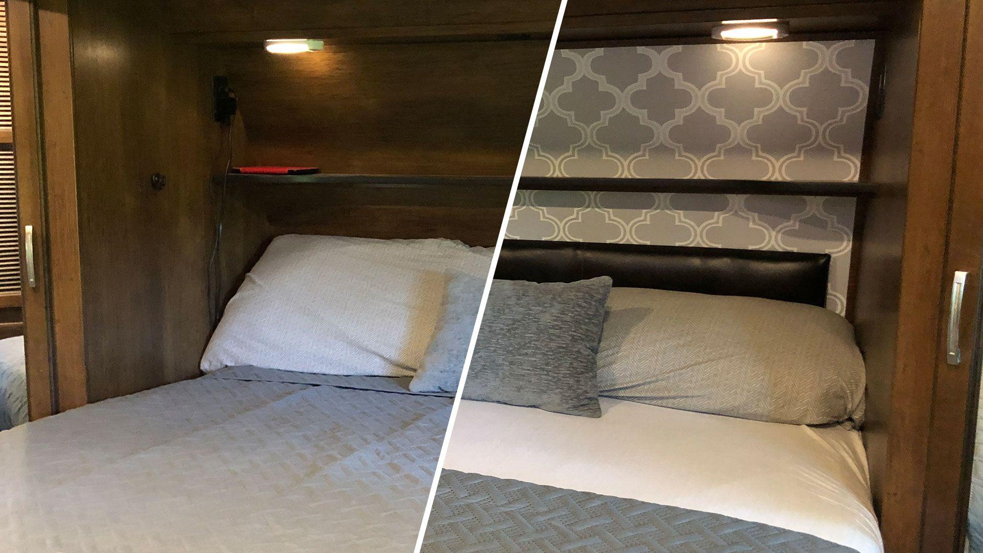 Diy Peel And Stick Wallpaper Rv Headboard Five2go Wallpaper Headboard Rv Wallpaper Wallpaper Bedroom
