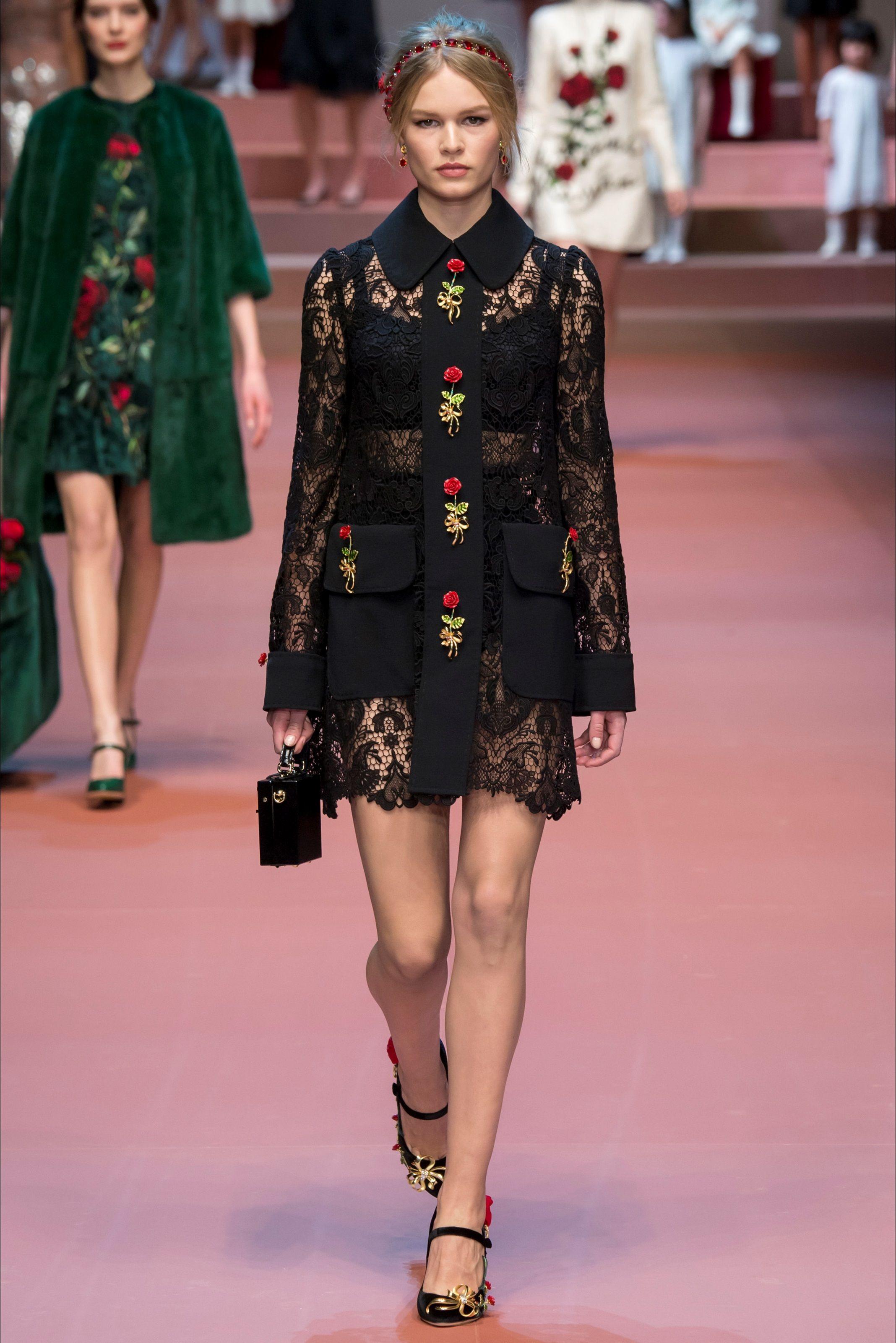 Dolce & Gabbana show de moda en Milán - Otoño Invierno 2015-16 ...