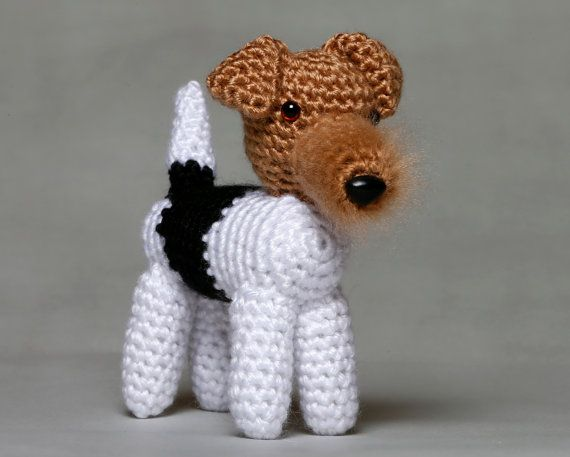 Wire Fox Terrier by HoneyBunnyShoppe on Etsy, $25.00 | Kids ...