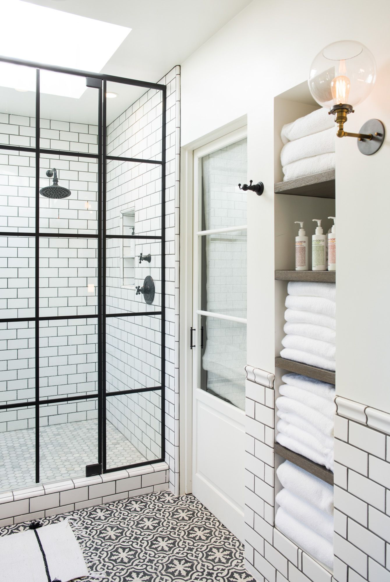 Pin by Beverly Parsons on Astor Place Bathroom | Pinterest | Shower ...