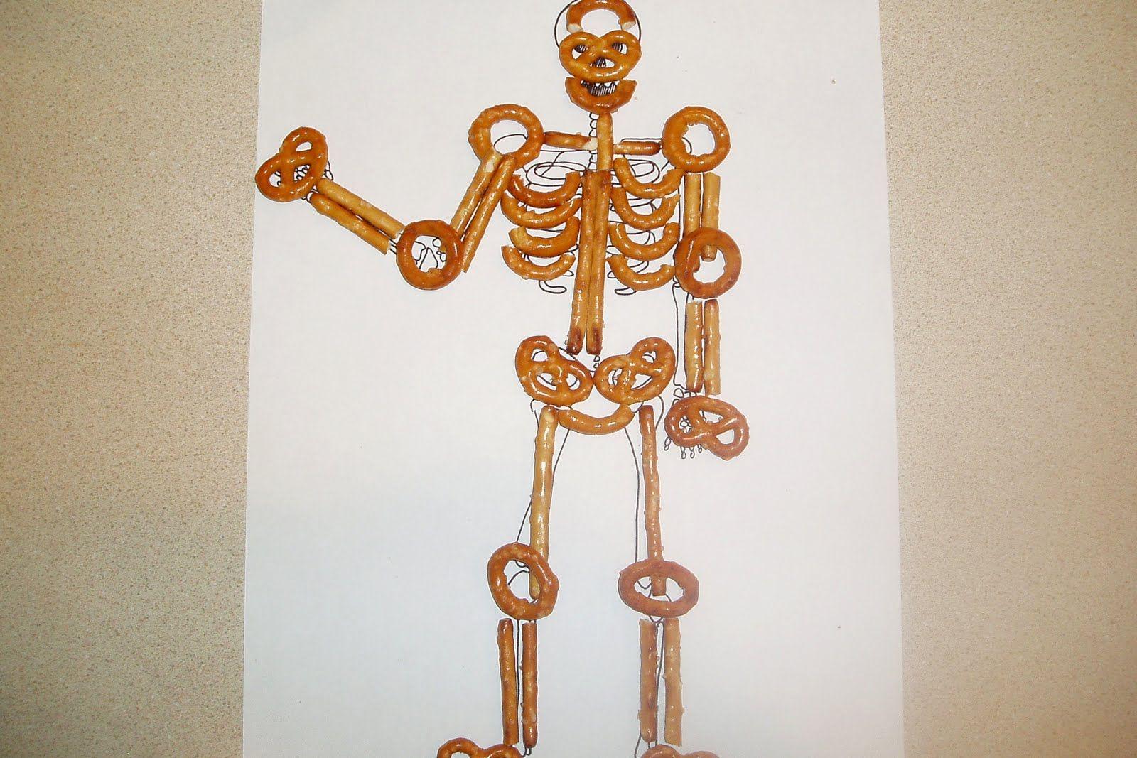 Amber S Recipes Pretzel Skeleton