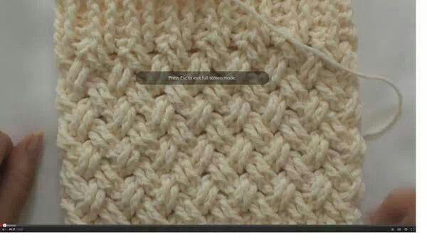 Puntada de onda (celtic wave) en crochet - Video en inglés ...