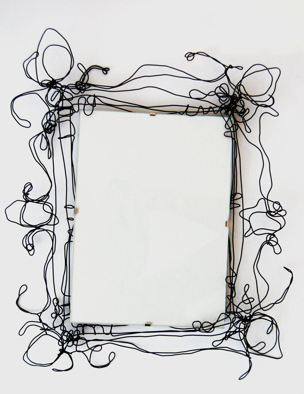 wire picture frames agnesjones etsy - Etsy Frames