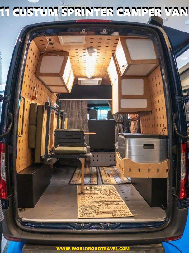11 Custum Sprinter Camper Van Sprinter Camper Conversion Vans For Sale Camper Van